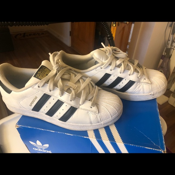 adidas Shoes | Superstar J Size 6youth
